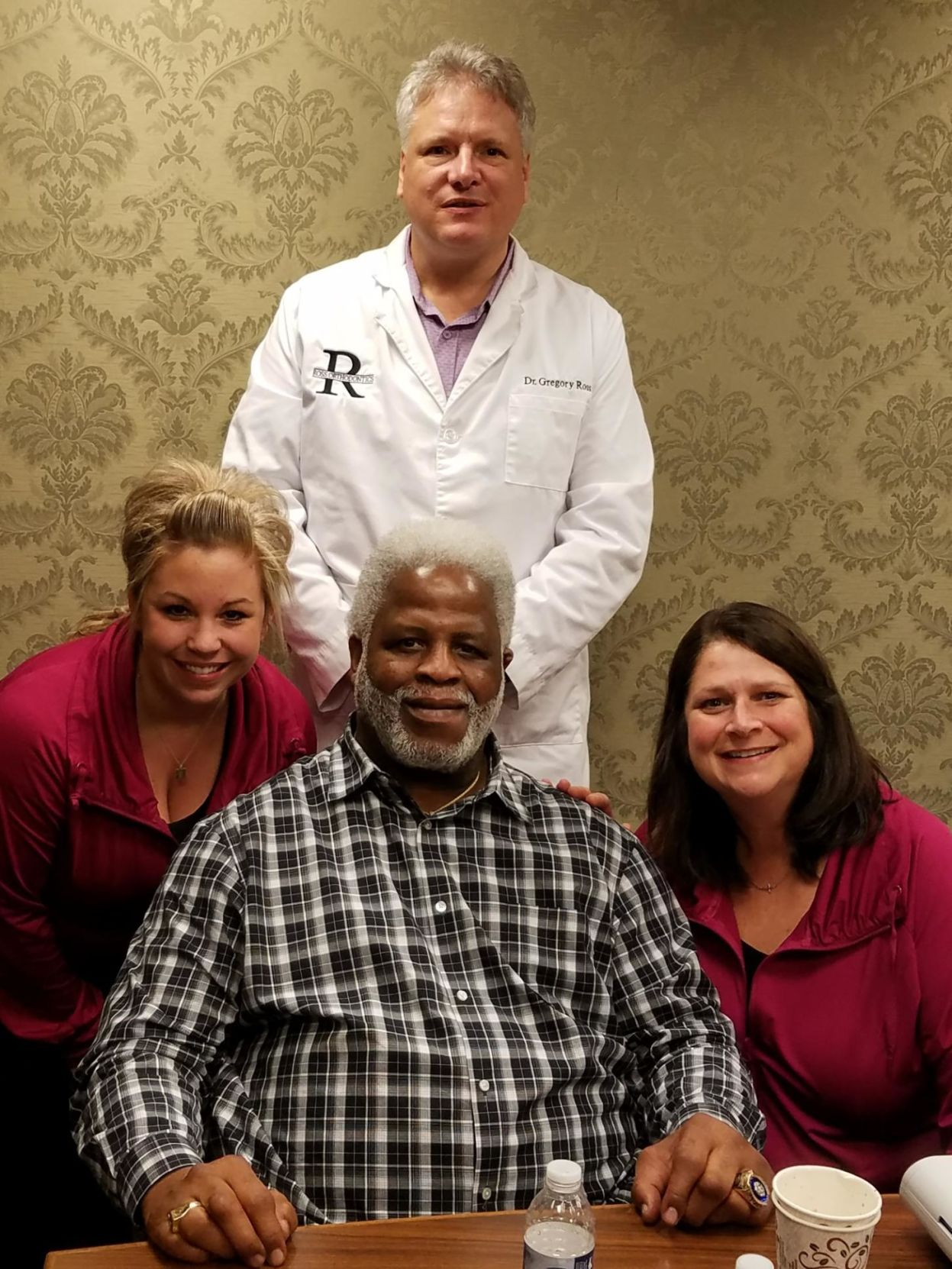 Dr. Ross w/ Earl Campbell